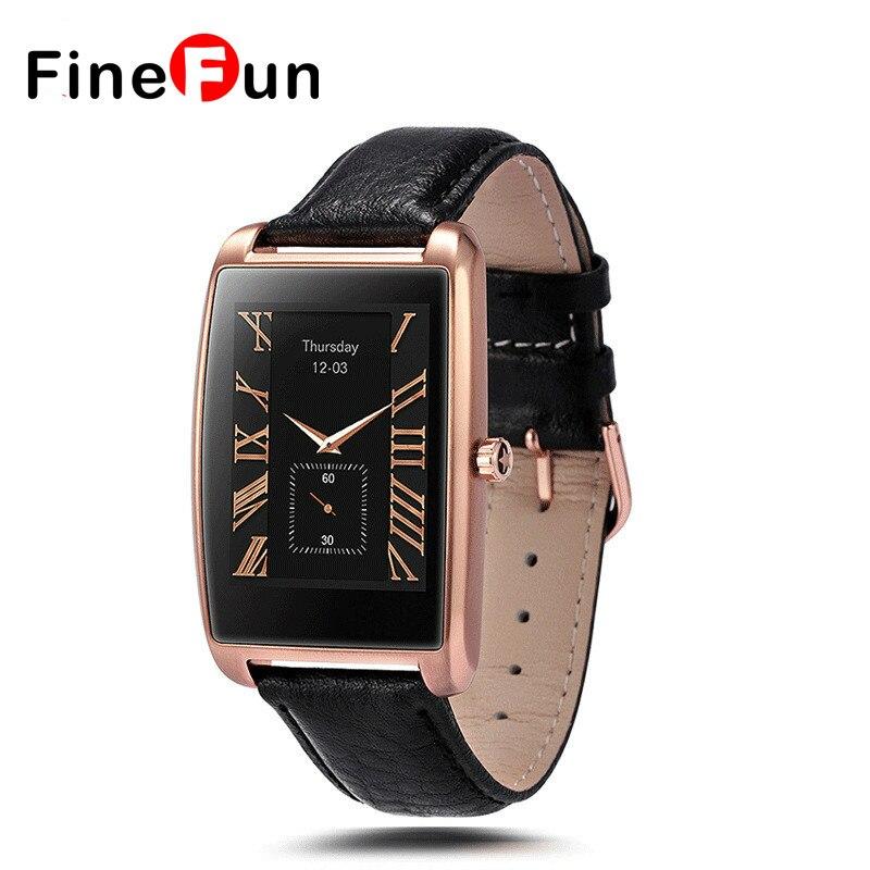 FineFun 2017 NEW LF12 Smart Watch 1.61 inch Curved IPS Touch Screen Wrist Bluetooth Smartwatch For IOS Android Phone #B1057 android 5 1 smart watch 1 54 inch hd curved screen 4gb