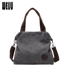 Frauen Tasche Vintage Leinwand Beiläufige Frauen Messenger Bags Bolsos Mujer De Marca Famosa 2016 Neue Handtasche Umhängetaschen