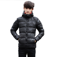 2017 Winter Coat Mens Down Jacket Camouflage New Brand Army Thick Fashion Casual Slim Coat Cold