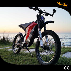 Electric Motorcycle off-road electric mountain bike escooter carbon fiber frame