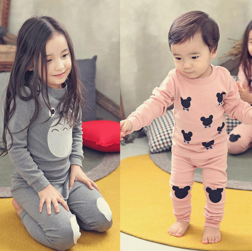 Nieuwe Baby Meisjes Kleding Sets Kostuum voor Meisjes Kleding Minnie Kleding Lange Mouw Kinderkleding voor Meisjes 3-8Y