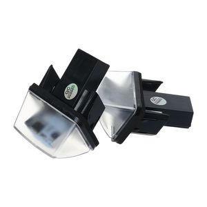 Image 3 - 1 זוג 18 LED רישיון מספר צלחת אורות מנורת עבור פיג ו 206 207 307 308 406 סיטרואן C3/C4 /C5/C6