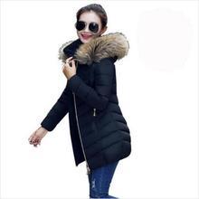 Winter jacket Women 2016 Duck Down Jacket Large Fur Collar Plus Size S-XXXL Thickening Long Coat Down Coat Parka Outerwear
