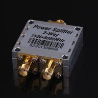High Quality 1500 8000Mhz 2 Way RF Power Splitter Combiner W SMA Female Connector High Frequency