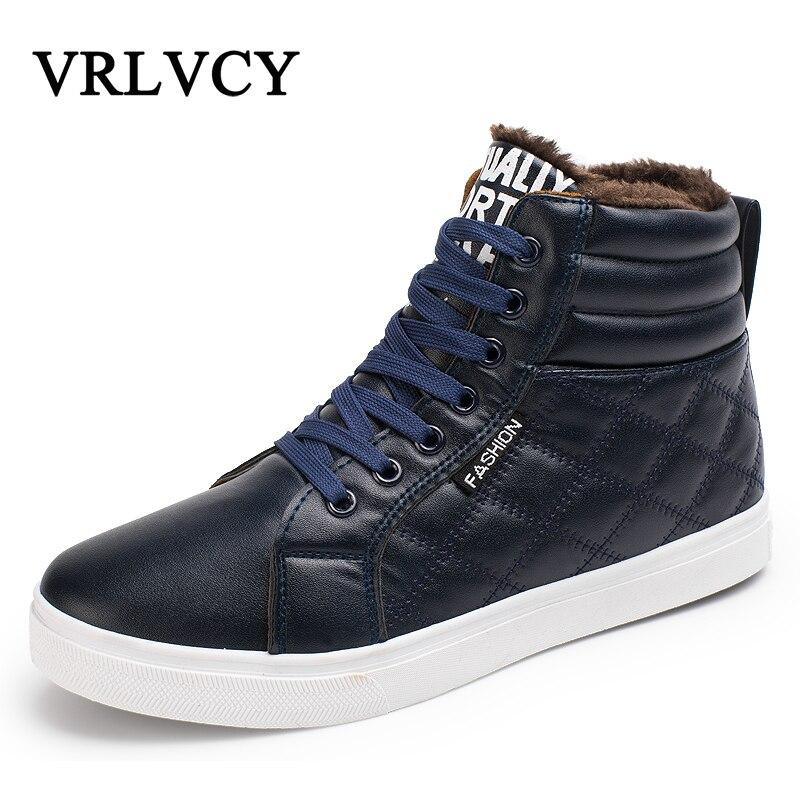 Super caliente de los hombres de invierno de Botas para hombres Cálido impermeable Botas de lluvia Zapatos 2018 de los nuevos hombres de nieve tobillo bota Botas masculina Bota