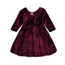 0923bfdde1a83 Buy kids red velvet dress and get free shipping on AliExpress.com