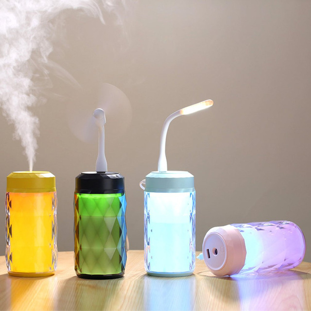 Electronic LED Multi function humidifier 2