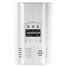 Carbon Monoxide Propane LPG LNG Gas Leak Sensor Warning LED Warning Light Alarm Detector Tester Home Security