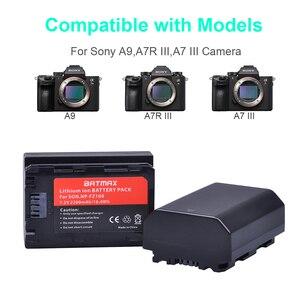 Image 5 - 1 adet 2280mAh NP FZ100 NP FZ100 Pil Sony NP FZ100, BC QZ1 Alpha 9, A7RIII, ILCE 7RM3, a9, Sony A9R Sony Alpha 9S Kamera