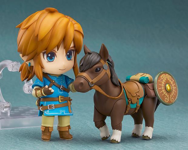 Game The Legend of Zelda Link Nendoroid Mini Action Figure