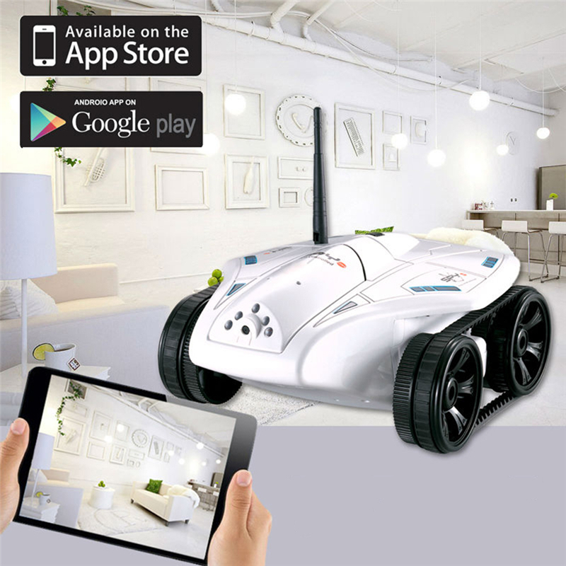 2016 Hot Sale New Happy No.777-325 Real Time Wi-Fi FPV Remote Control Tank Telecontrol Toy Model 0.3MP HD Camera Tank Car Toy free shipping hot sale new 777 325 rc mini tank rc car wifi real time photo transmission hd camera ios phone or android toy fswb