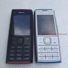 Отремонтированный X2 Nokia X2-00 Bluetooth 5MP разблокированный мобильный телефон горячая распродажа
