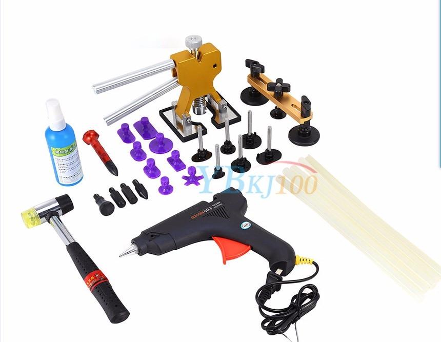 34pcs set Professional Car Repair Removal PDR font b Tools b font Complete Car Paintless Dent