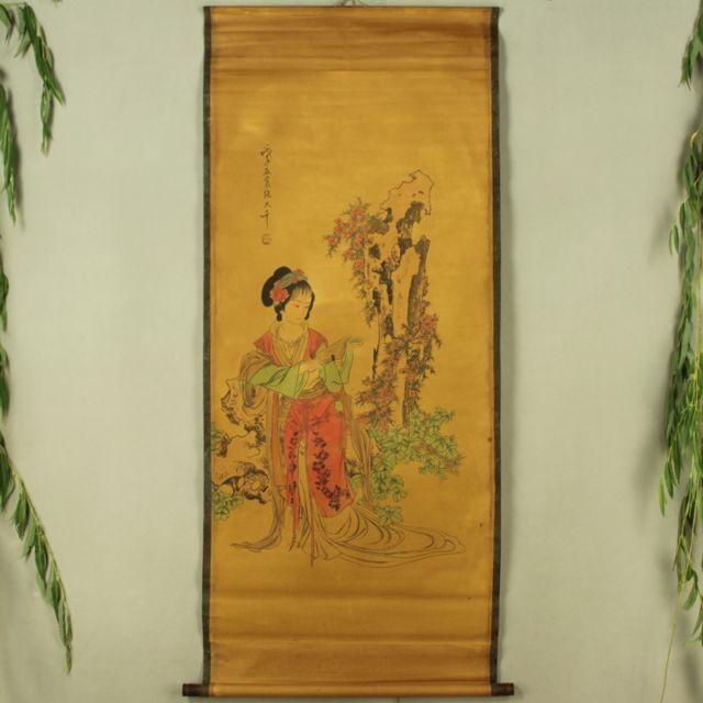 Collection de Boutique d'antiquités de chine le diagramme féminin