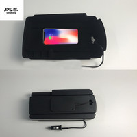 1lot Mobile phone wireless charging Central Armrest storage box for 2016 2017 2018 KIA Sportage MK4
