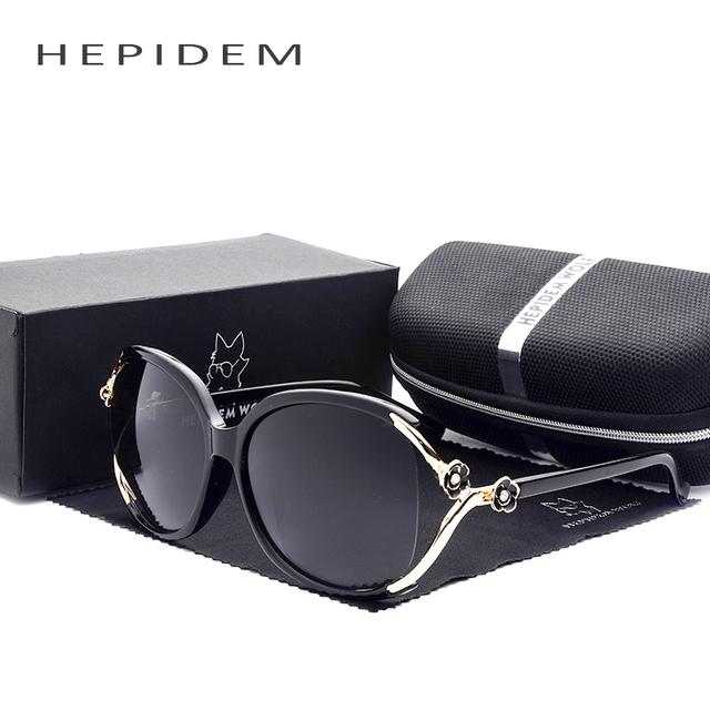 Polarizada óculos de Moda de Nova Marca Designer óculos de Sol para As Mulheres De Luxo Canal Superstar Big Oversized Limpar Frame Do Vintage Óculos de sol