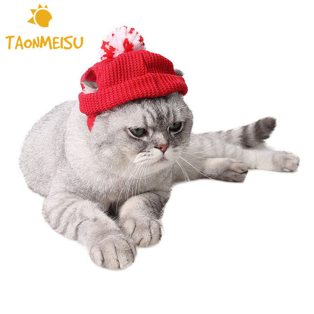 Mascotas Navidad lana sombrero caliente bola diseño CAPS Navidad Cap ...