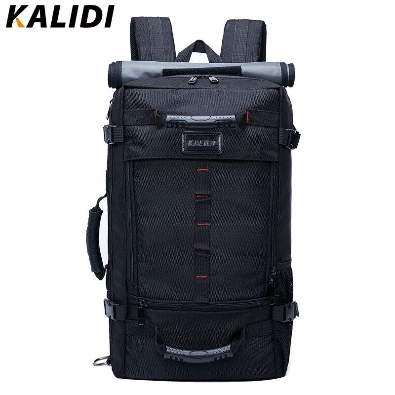 KALIDI Brand Stylish Travel Large Capacity Backpack Male Luggage Shoulder Bag Co