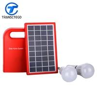 Solar led light portable solar panels charger universal battery charger solar charging panels lamp 4.5Ah