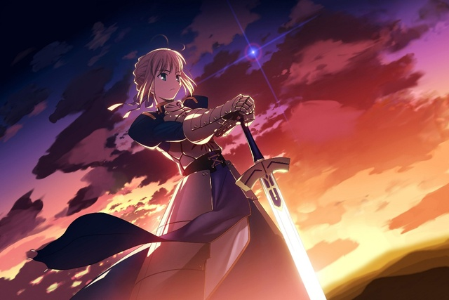 Night saber stay Fate