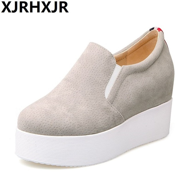 Chaussures automne beiges Casual femme