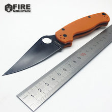 BMT Custom C81 Tactical Folding knife G10 handle + 9cr13 steel blade folding knife camping survival knives Outdoor Pocket EDC