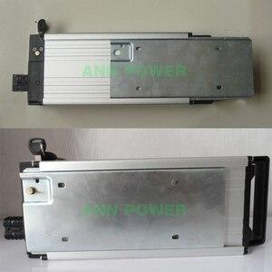 Image 4 - 18650リチウム電池ボックス用リアラックタイプ電動ケース36vまたは48 36v e バイクバッテリーアルミボックスインナーサイズ290*145*68ミリメートル