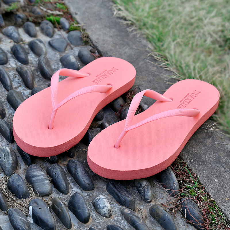 Summer Shoes Women Slippers Flip Flops Women's Beach Flat Sandals Open Toe Outdoor Casual Ladies Sandals Flip Flops new 2018 women open toe flip flops fashion ankle strap gladiator sandals women big size 34 43 ladies casual flat rome sandals