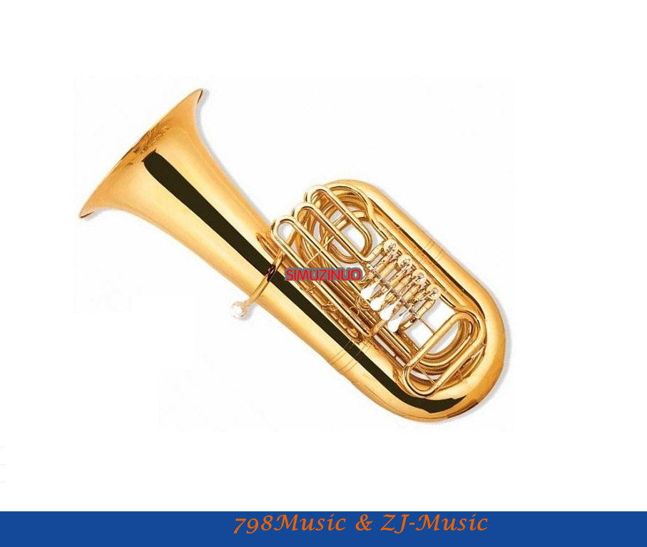 4-Key Tuba Entry Model With Case-Bore Size:20mm-Bell DIA.450MM