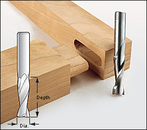 6,8,10,12mm, Upcut Spiral Router Bit, 1/2 And 1/4 Shank
