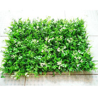 40*60 CM Diy Artificial turf 3d wall stickers Garden Decor Plants Grass Green Landscaping Square Lawn Eucalyptus leaves