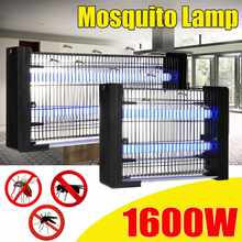 220V electrico choque Fly Bug Zapper Mosquito mata insectos lámpara led 3/6W ahorro de energía Anti Mosquitos lámpara repelente enchufe CN(China)