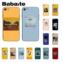 Babaite Great aesthetic van Gogh Mona Lisa David Phone Case for iPhone6S 6plus 7 7plus 8 8Plus X XsMAX 5 5S XR 11 11pro 11promax