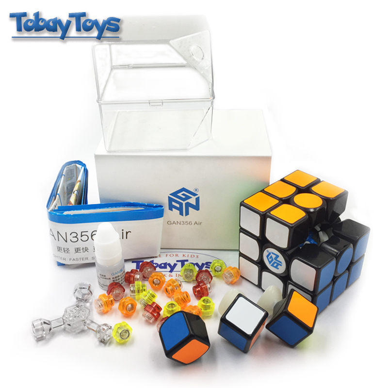 GAN 356 Air Magic Cube Master Record Speed Cube Professional Competition 356 Air Black N White Classic GAN Cubo De Rabie Cube
