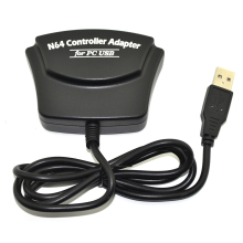 xunbeifang For  N64 Controller gamepad  Converter Adapter for PC USB 2 Ports
