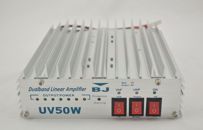 Baojie 50 Watt double bande amplificateur de puissance linéaire bj - uv50w pour double deux - way Radio Amateur HAM Radio Transceiver