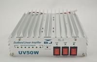 Baojie 50Watt Dual Band Linear Power Amplifier BJ UV50W For Dual Two way Radio Amateur HAM Radio Transceiver