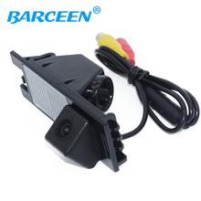 HD CCD glass lens material car reserve rearview camera auto wire 170 angle apply for Hyundai IX35 2010/2012/tucson 2011