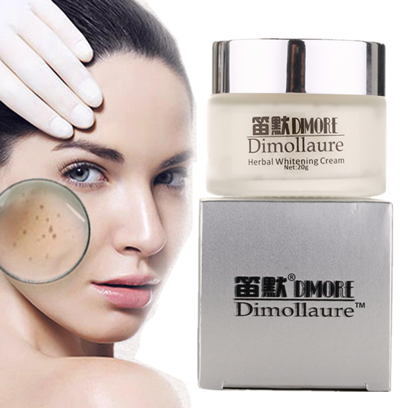 Buy 3 Get 1 Gift Dimollaure Strong effect whitening Freckle cream Remove melasma Acne Spots pigment Melanin face care cosmetics