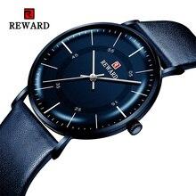 報酬 2019 新ファッションメンズ腕時計トップブランドの高級時計男性カジュアル超薄型防水スポーツ腕時計レロジオ Masculino
