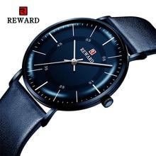 BELOHNUNG 2019 Neue Mode Herren Uhren Top marke Luxus Uhr Männer Casual Ultradünne Wasserdicht Sport Armbanduhr Relogio Masculino