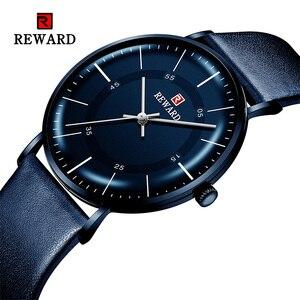 Image 1 - REWARD 2019 New Fashion Mens Watches Top Brand Luxury Watch Men Casual Ultrathin Waterproof Sport WristWatch Relogio Masculino