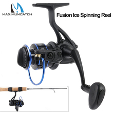 Maximumcatch Fusion 3+1 Ball Bearings Spinning Fishing Reel 5.16:1 Gear Ratio Ice Spinning Reel Ice Fishing Reel vissen spinneret coil 6 1 ball bearings type fishing reels 6 3 1 gear ratio left right hand interchangeable spinning reel