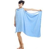 Bath Towels Fashion Lady Girls Wearable Quick Drying Magic Bath Towel Beach Spa Bathrobes Bathrobe Bath