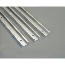 1 stks T tracks Aluminium Slot Mijter Track Jig Armatuur voor Router Tafel Bandsaws Houtbewerking Tool Lengte 300/ 400/600/800mm