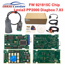 Lite lexia3 pp2000 Lexia-3 chip completo para peugeot para citroen ferramenta de diagnóstico lexia 3 diagbox v7.83 pp2000 v25 chip completo 921815c