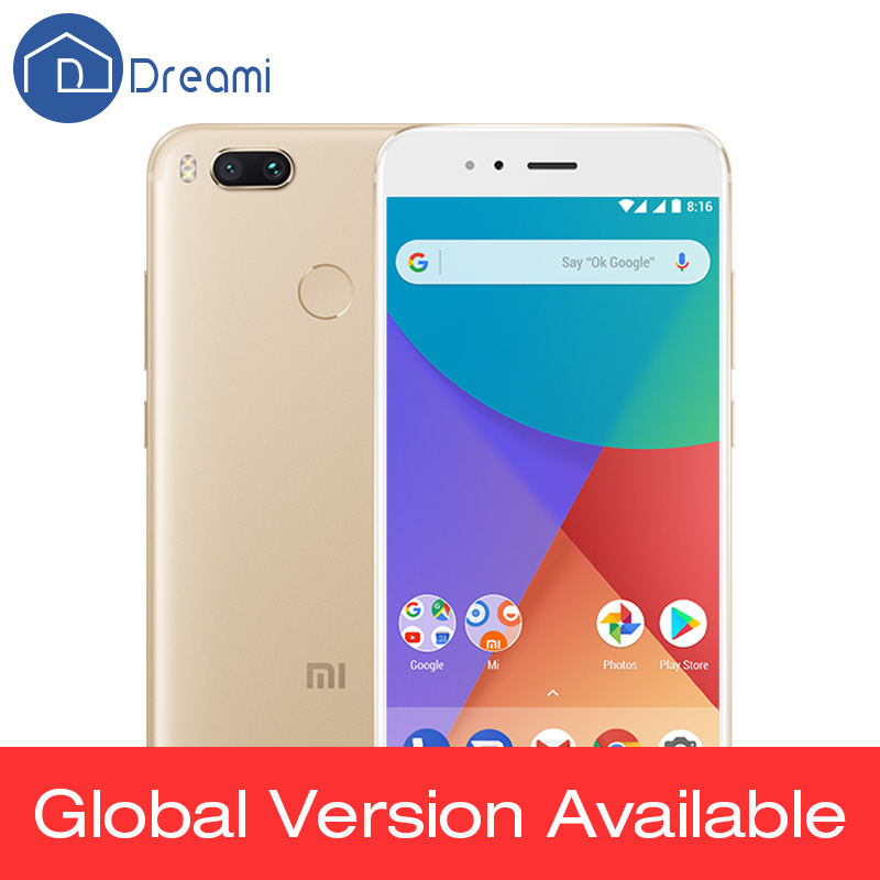 Buy Global Version Xiaomi Mi A1 4GB 32GB 5.5'' 1080P Snapdragon 625 Octa Core Smartphone Dual 12MP Android One CE Fingerprint ID for $165.00 in AliExpress store