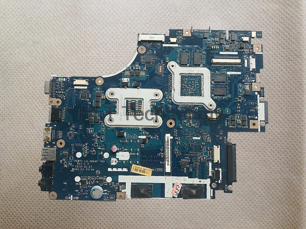HOLYTIME Laptop <font><b>Motherboard</b></font> For <font><b>Acer</b></font> <font><b>aspire</b></font> 5742 <font><b>5742G</b></font> PEW71 LA-5894P MBRB902001 MB.RB902.001 HM55 DDR3 GT540M 1GB image