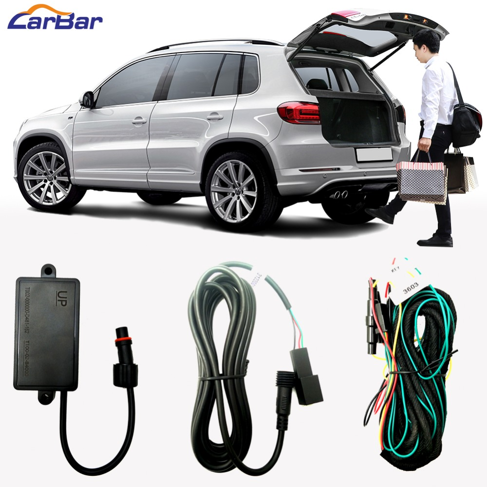 Relearce One Foot Activated Trunk Boot Sensor for Smart Auto Electric Tail Gate Lift Boot Flaps