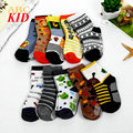 Random Designs Cartoon Pattern Cotton Socks Baby Boys Socks Non-slip Meias Kids Calcetines Boy Socks KD384